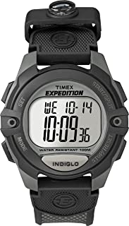 Timx Exx. Men's Classic Digital Chrono Alarm Timer Full-Size Watch