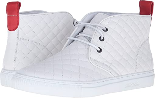 White Quilted