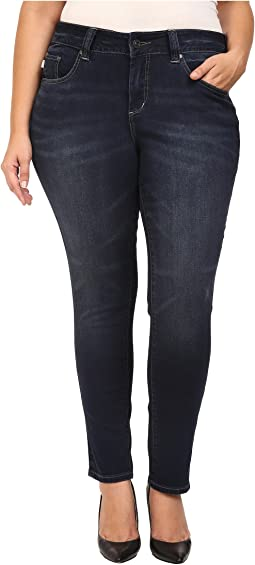 Jag Jeans Plus Size - Plus Size Sheridan Skinny in Dark Star Capital Denim