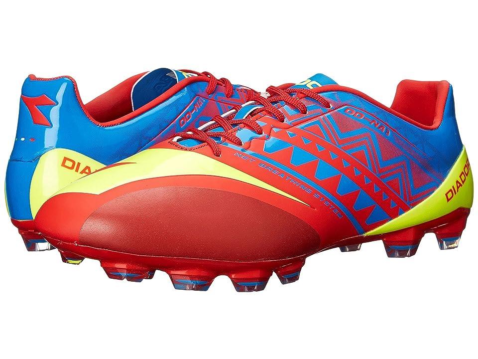 Diadora DD-NA3 GLX 14 (Brilliant Blue/Fiery Red) Men