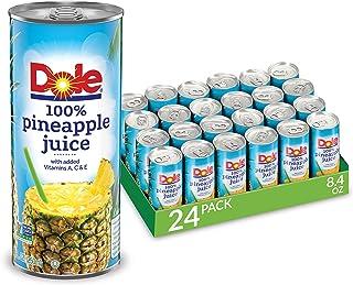 Dole 100 % Pineapple Juice (24/8.4 Fl Oz Net Wt 201.6 Fl Oz),, Stainless-Steel