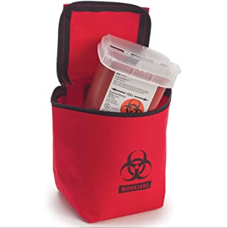 Hopkins Zippered Transport Pouch with Sharps Container
