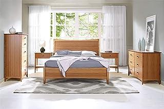 Greenington Willow 5-Piece Bamboo Bedroom Set (King Bed)
