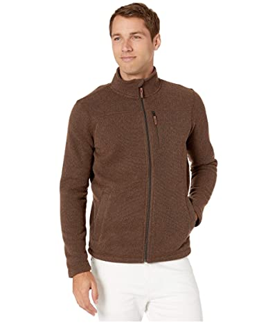 Smartwool Hudson Trail Fleece Full Zip Jacket (Bourbon Heather) Men