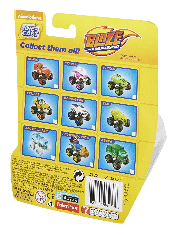 Fisher-Price Nickelodeon Blaze & the Monster Machines, Crusher Core