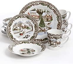Toile Dinner Plates