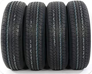 Pack of 4 New ST205/75R15 Trailer Tires 8 PLY RATED 205/75R15