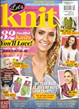 LET'S KNIT, ISSUE,113 DECEMBER, 2016 (THE UK'S BEST SELLING KNIT MAGAZINE)