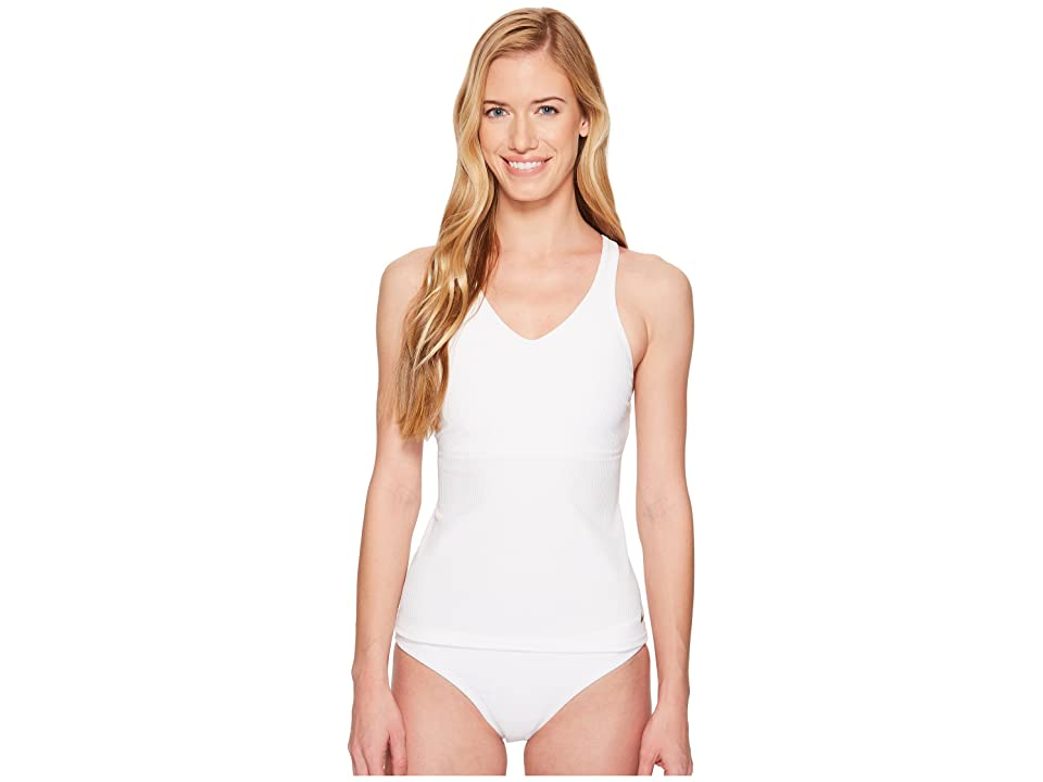 Nike Racerback Tankini (White) Women