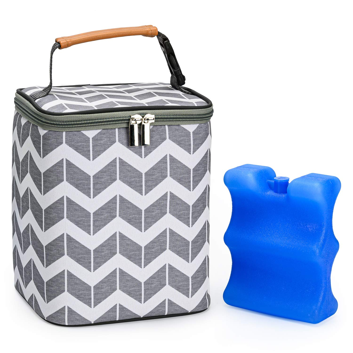 Momojing Breastmilk Cooler Bag and with Bottle Pack Free shipping on posting reviews Baby Ice Sale Special Price