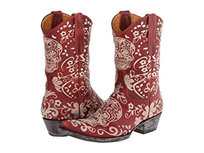 Old Gringo Klak (Red/Bone) Cowboy Boots