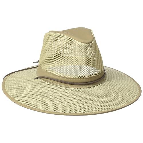 194d6467f2e Henschel Crushable Soft Mesh Aussie Breezer Hat
