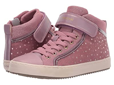Geox Kids Jr Kalispera 18 (Big Kid) (Dark Pink) Girls Shoes