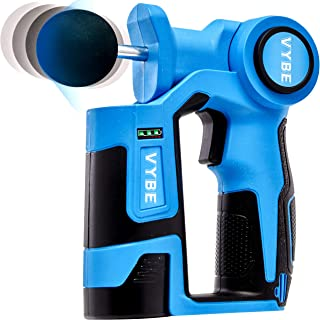 VYBE Percussion Massage Gun -Handheld, Brushless, Cordless, Electric -Deep Tissue..