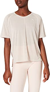 PUMA Studio Graphene Relaxed Tee T-Shirt Femme, FR : M (Taille Fabricant : M)