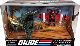 G.I. Joe 25th Anniversary F.L.A.K. (FLAK) Cannon with Stuart