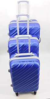 "Hardside Spinner Luggage - Multi- 3 Piece Set 20""-24""-28"" Royal Blue"
