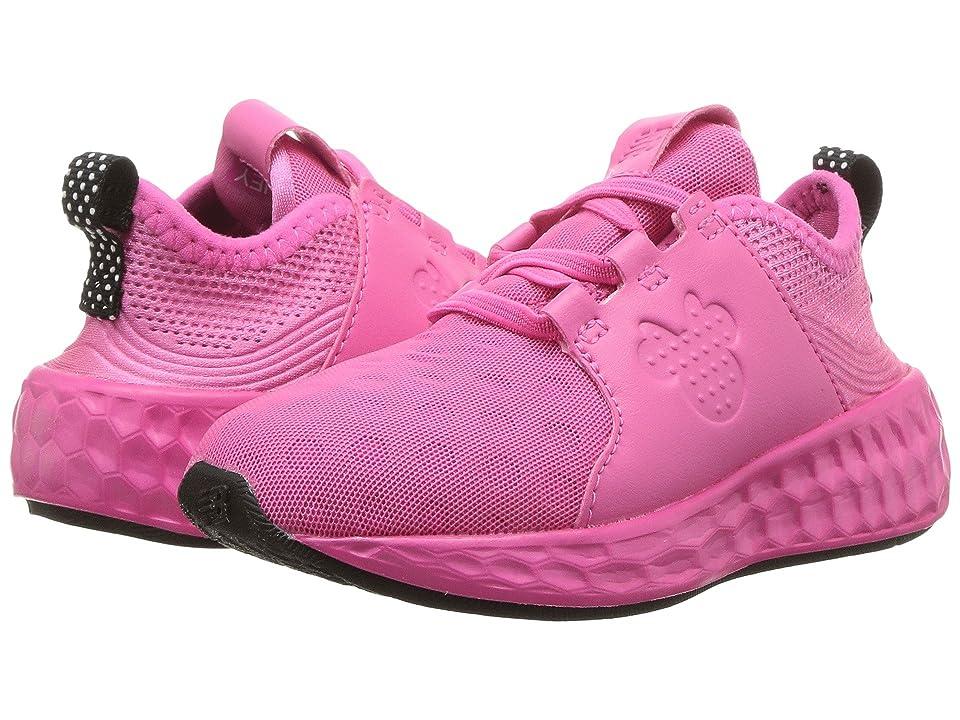 New Balance Kids KVCRZv1I Minnie Rocks the Dots (Infant/Toddler) (Pink/Black) Girls Shoes