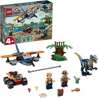 LEGO Jurassic World Velociraptor: Tweedekker reddingsmissie 75942 geweldige bouwset met dinosaurusspeelgoed voor kleuters ...