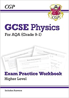 Grade 9-1 GCSE Physics: AQA Exam Practice Workbook (with answers) - Higher