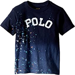 Polo Ralph Lauren Kids Paint-Splatter Cotton T-Shirt (Toddler)