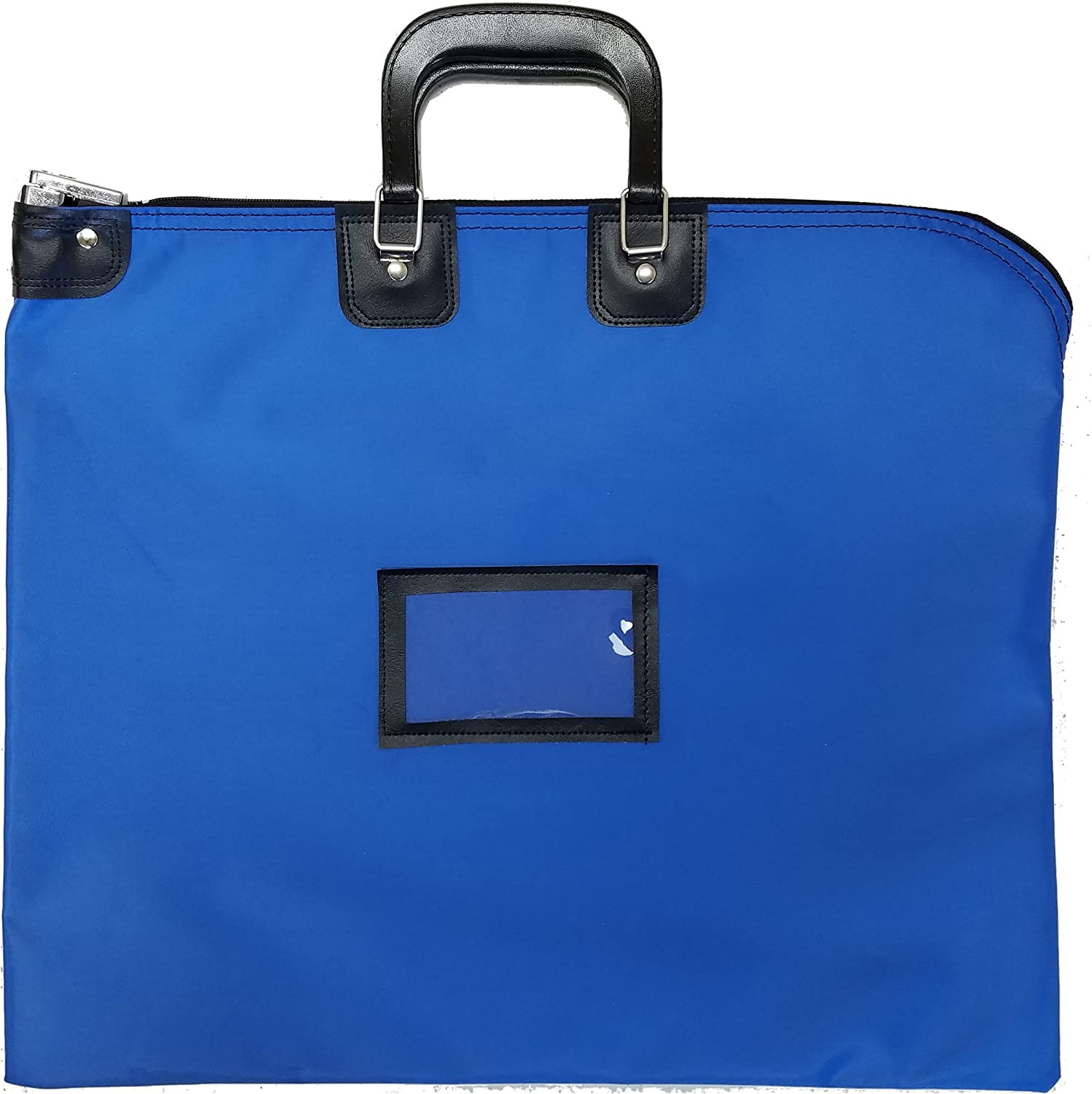Red Locking Document HIPAA Bag 16 x 20 with Handles