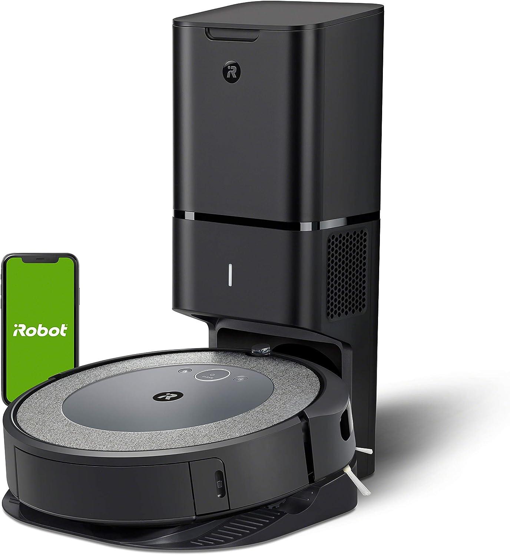 aspirador para pelos perros y gatos iRobot Roomba i7 + 7550