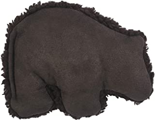 West Paw Big Sky Grizzly, Squeaky Plush Dog Toy, Chocolate, Small