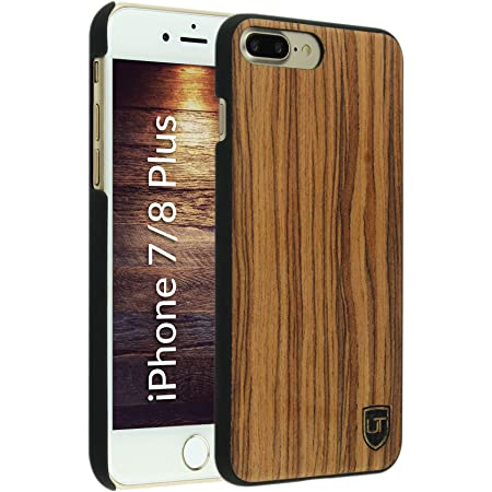 UTECTION Custodia in Legno per iPhone 7 Plus / 8 Plus: Amazon.it ...