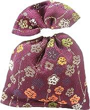 香袋 金襴 紫紺色