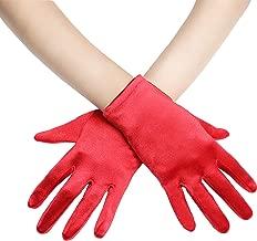 extra lange Satinhandschuhe klassisch elegante Handschuhe Satin Damen Handschuhe