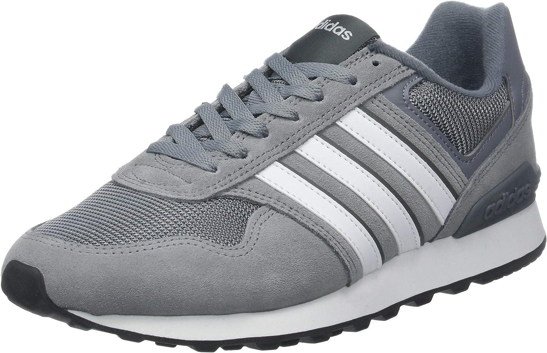 Adidas Casual Wear män skor 10K Träning i mode Tränare grå