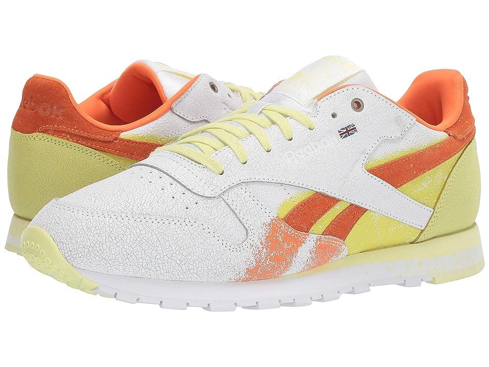 a02bcf995a996 Reebok Classic Leather Montana (White Pure Orange Poison) Men s Shoes