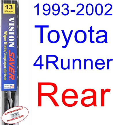 1993-2002 Toyota 4Runner Wiper Blade (Rear) (Saver Automotive Products-Vision