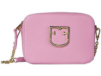 Furla Brava Mini Crossbody (Malva) Handbags