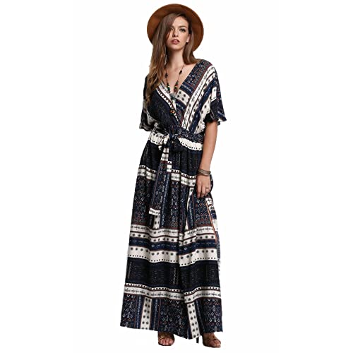 Plus Size Boho Maxi Dress: Amazon.com