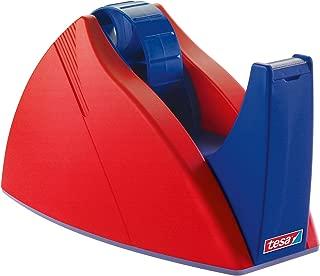 Tesa UK Tesa 57422 Easy Cut Tape Dispenser for 25Mm X 66M Rolls - Red/Blue