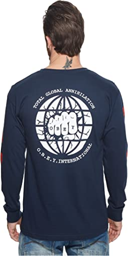 Obey - Global Annihilation Long Sleeve Tee