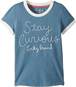 Lucky Brand Kids - Jasmeen Tee (Big Kids)