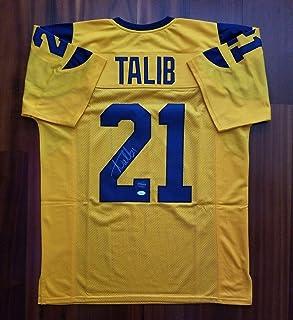 Signed Aqib Talib Jersey - LA PROVA - JSA Certified - Autographed NFL Jerseys