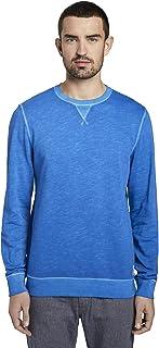 TOM TAILOR Men's Overdye Sweatshirt