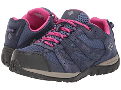 Columbia Kids Redmond Waterproof (Little Kid/Big Kid) (Bluebell/Pink Ice) Girls Shoes