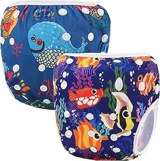 Storeofbaby Pañales de natación reutilizables nappy pañ