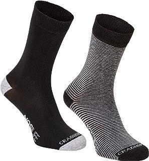 Craghoppers, Calcetines deportivos tecnología Nosilife para hombre caballero (Paquete de 2)
