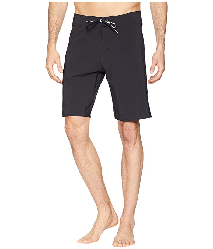 Volcom Zap Lido Solid Mod 21 Boardshorts (Blackout) Men