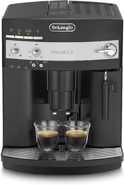Macchina da caffè automatica, 1450 w, 2 cups, 15 bar, plastica, nero de`longhi esam3000 ESAM 3000.B