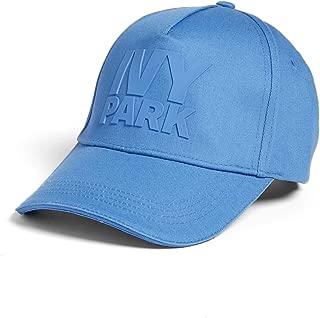 (by Beyonce Silicone Logo Baseball Cap Blue
