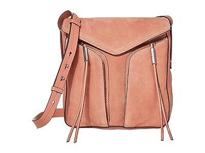 Vince Camuto Mika Crossbody (Vintage Rose) Handbags