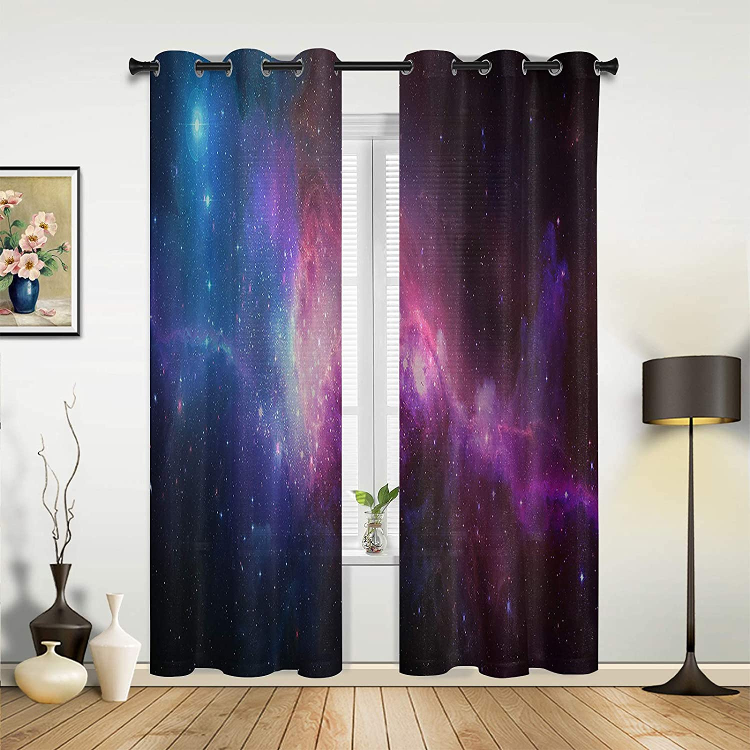 Cheap mail order shopping Window Sheer Curtains for Jacksonville Mall Bedroom Mysterious Dreamy Room Living