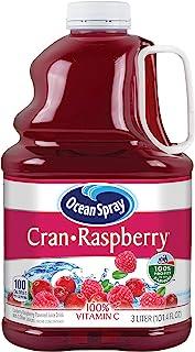 Ocean Spray Cran-Raspberry Cranberry Raspberry Juice Drink, 101.4 Ounce (Pack of 6)